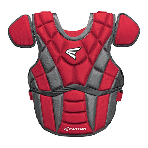 Fastpitch Softball Catchers Gear (Easton Prowess Fastpitch Chest Protector Adult RD Red)