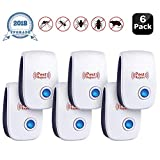 JALL Ultrasonic Pest Repeller Plug in Pest Control 6 Pack
