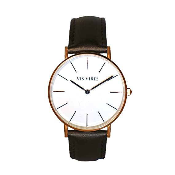 Vis Vires VISIONNAIRE Mens Reloj Oro Rosa 40 mm