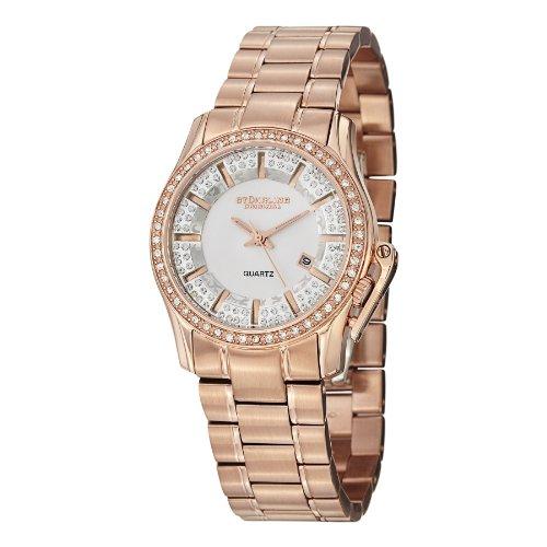 Stuhrling Original Women's 910.03 Symphony Calliope Analog Display Quartz Rose Gold Watch