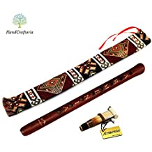ARMENIAN DUDUK PRO handmade from ARMENIA with Playing Instruction - Oboe flute Balaban Woodwind Instrument Apricot Wood - Gift National case