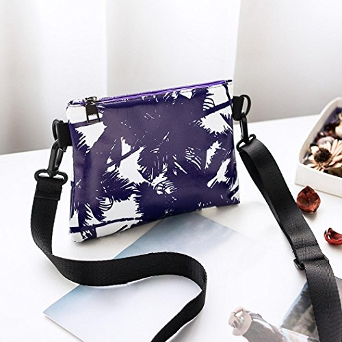 Bolsa Shoppers Tote mujer Lona de para Bolsos Bolsos bolsos de Mujer Bolso bandolera mochila de ocio y Bolsos totes Bandolera Shopper Púrpura hombro Awx04q