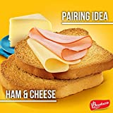 Bauducco Toast, Original, Whole Wheat & Multigrain, Delicious, Light & Crispy Toasted Bread, Breakfast Toast, Great with Peanut Butter & Jelly, No Artificial Flavors, 30.06oz