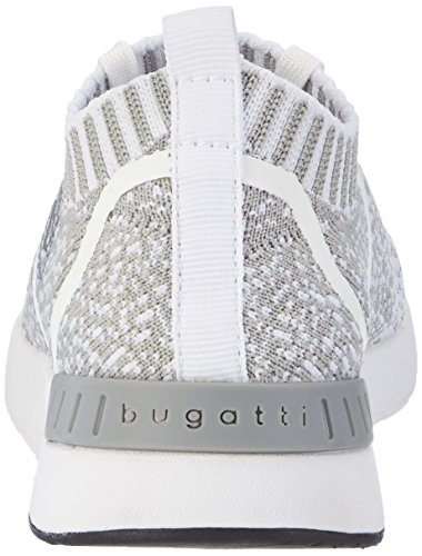 wei 232 Lace Bugatti Women wei white grau DY51616 Up grau Shoes wSX887q