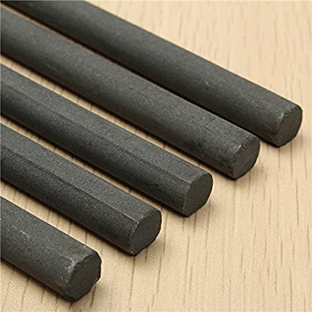 EsportsMJJ 1 10 140 mm Ferrit Rod Bar Loopstick F/ür Radio Antenne Aerial Crystal