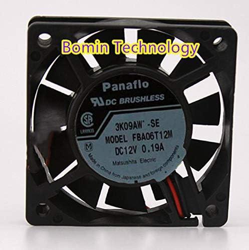 Bomin Technology for Panaflo FBA06T12M 6015 12V 0.19A 6CM Cooling Fan