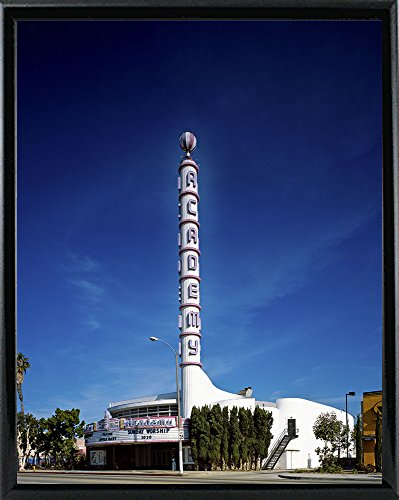 "Frame USA Academy Theatre in Inglewood-PRIPUB131085 14.5""x11.5"" by Print Collection, 14.5x11.5, Black Metal Frame"