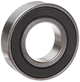 """MRC 5202SBKZZ Ball Bearing, Double Sealed, No Snap Ring, Metric 15 millimeters ID, 35 millimeters OD, 5/8"""" Width, 12000 rpm Max RPM, 1530 pounds Static Load Capacity, 2560 pounds Dynamic Load Capacity"""
