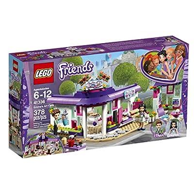LEGO Friends Emma's Art Café 41336 Building Set (378 Pieces): Toys & Games