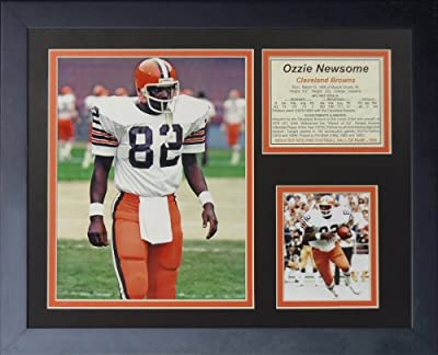 "Ozzie Newsome 11"" x 14"" Framed Photo Collage by Legends Never Die, Inc."