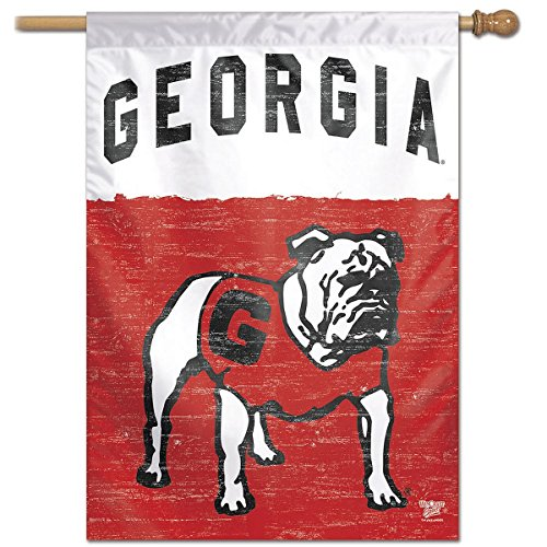 WinCraft Georgia Bulldogs Vault Throwback Retro Vintage House Flag