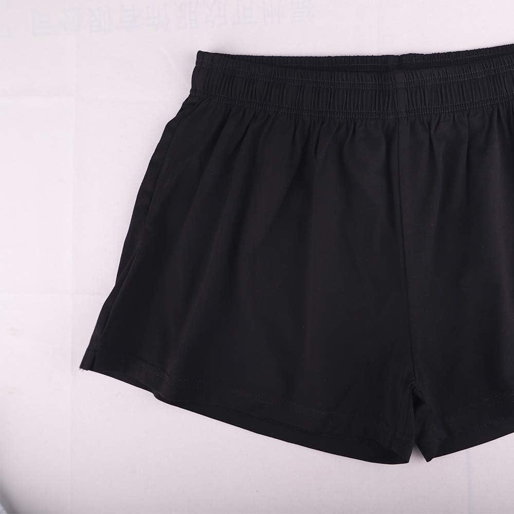 Shorts de Pyjama v/êtements de d/étente en Coton GYMAPE sous-v/êtements de Shorts de d/étente pour Hommes 3de Fond Doux et Confortable