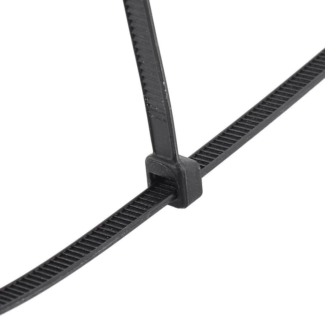 DealMux Nylon Self-locking Cable Tie Zip Loop Power Wire Cord Strap 250pcs