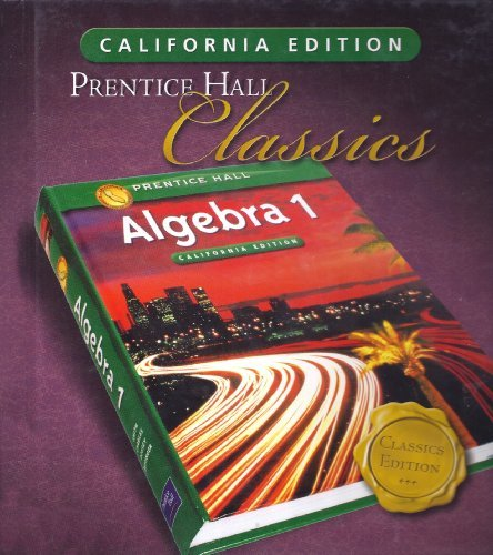 prentice hall classics algebra 1 - 7