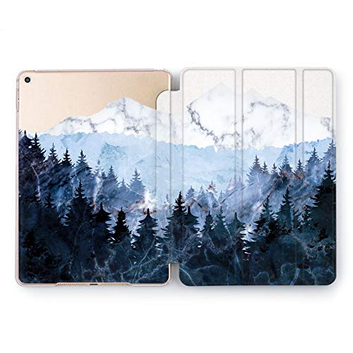 Wonder Wild Forest View Apple iPad Pro Case 9.7 11 inch Mini 1 2 3 4 Air 2 10.5 12.9 2018 2017 Design 5th 6th Gen Clear Smart Hard Cover -