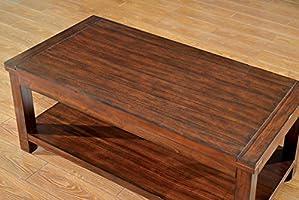 Amazon.com: Muebles de América Torrence mesa de centro de ...