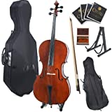 Best Beginner Cellos - Cecilio CCO-200 Solid Wood Cello with Hard Review