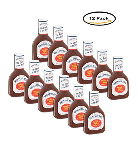PACK OF 12 - Sweet Baby Ray's Gourmet Sauces Sweet 'n Spicy