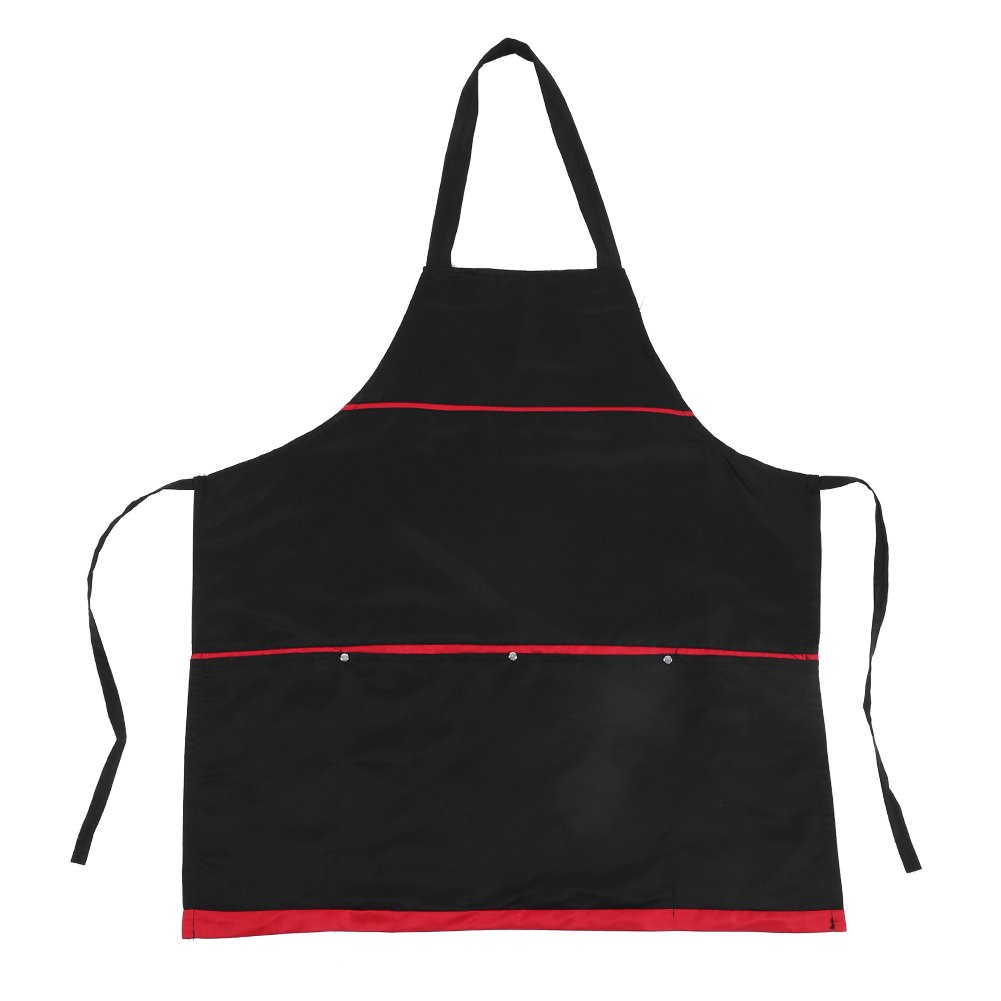 Hair Cape Lady Pattern Salon Barbers Cutting Hairdressing Fashion Style Apron for Adult Black Zerone