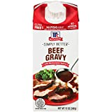 #3: McCormick Simply Better Meat Gravy, 12 OZ (Beef, Pack - 8)