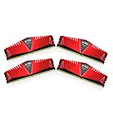 ADATA XPG Z1 16 GB (4 GB x 4) DDR4 2400 MHz CL16 Memory Modules - Red