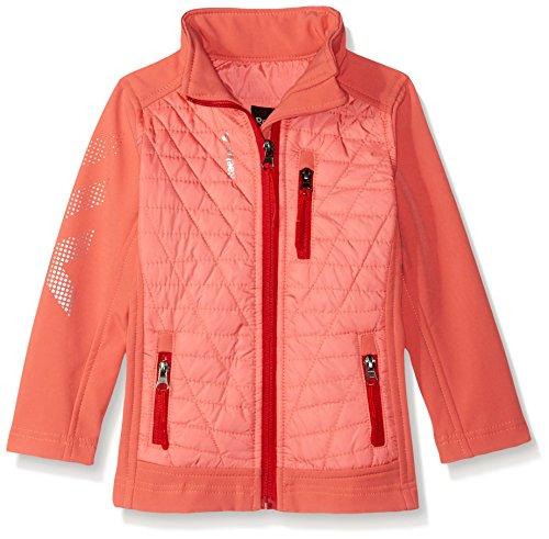 - Reebok Girls' Active Outerwear Jacket,Glacier Shield Coral,5/6