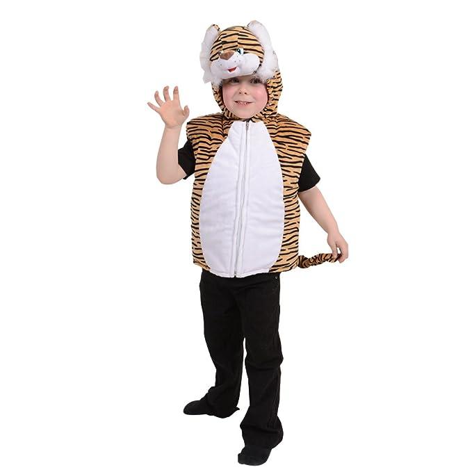 Deluxe - Disfraz de tigre infantil, talla 7 (KA-4458): Amazon.es ...