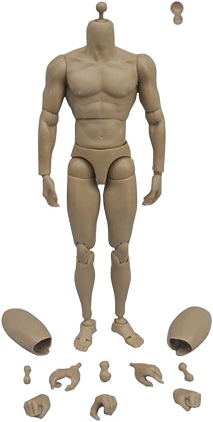 1//6 Scale Shortened Peg Feet Action Figure Custom