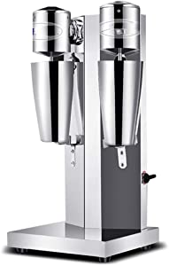 Milkshake machine Socean Stainless Steel Multi-Function Milk Tea Mixer Two Gears Silent Operation Stainless Steel Body, Automatic Mixer.