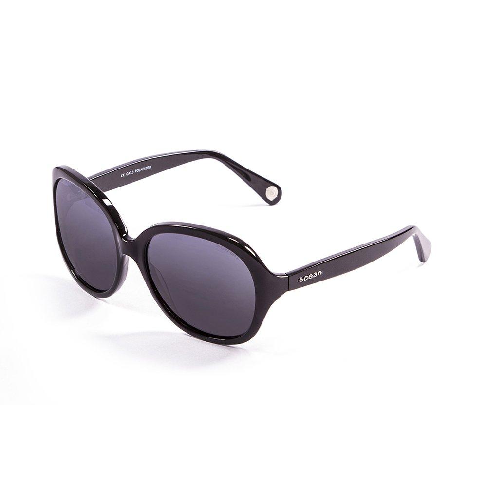 OCEAN SUNGLASSES Elisa - lunettes de soleil polarisÃBlackrolles - Monture : Noir LaquÃBlackroll - Verres : Revo Bleu (15300.1) lc5EKI