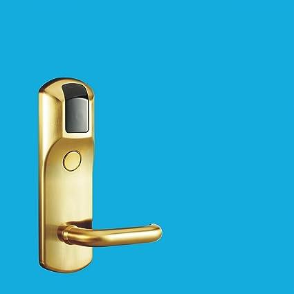 TDJDYQ Cerradura electrónica de control remoto Bloqueo de inducción Entrada sin llave 3 en 1 Tarjeta