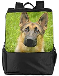 German Shepherd Dog Convenient Lightweight Travel Hiking Backpack Daypack Gift