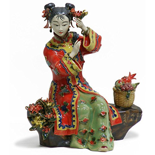 China Furniture Online Porcelain China Doll, Chinese Shi Wan (Chinese Collectible Doll)