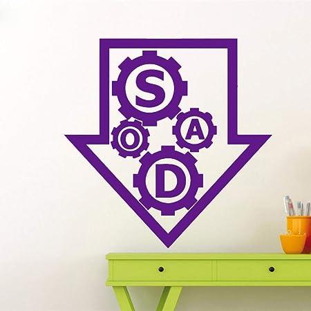 zhuziji Tatuajes de Pared Cotizaciones SOAD Vinyl Wall Stickers ...