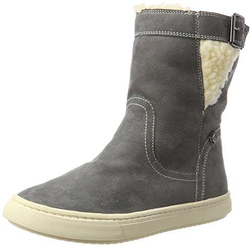 Roxy Women's Blake Mid Low-Top Sneakers, Grey (Charcoal), 9 UK
