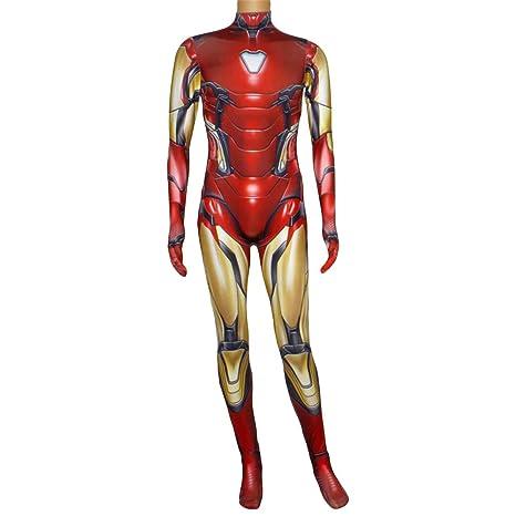 NDHSH Avengers Iron Man Cosplay, niño Adulto Disfraz Disfraz ...