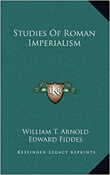 Book Studies of Roman Imperialism