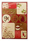 The Gift Wrap Company Self-Adhesive Holiday Label