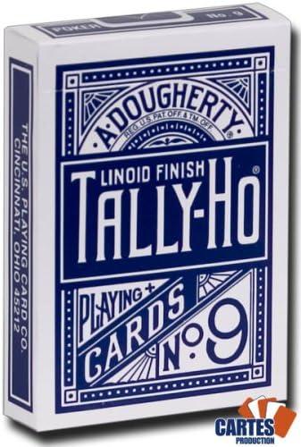 Caja de 12 barajas TALLY-HO Fan (US playing cards company) (6 ...