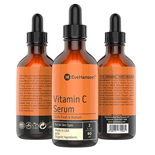 Eve Hansen Vitamin C Facial Serum 2 oz B01MRCBWS5