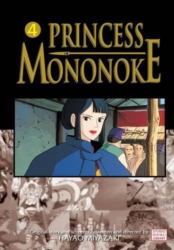 PRINCESS MONONOKE FILM COMIC GN VOL 04: v. 4
