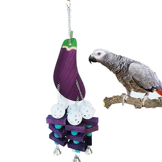 NgMik Bird Parrot Toys Juguete del Loro Mediano y Grande Loro ...