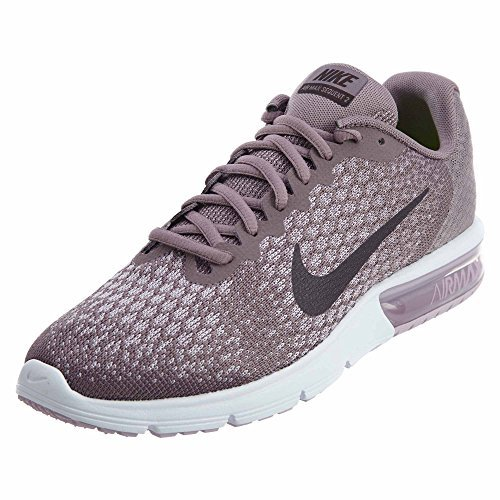318512e8cb2a Nike Air Max Sequent 2 Sz 9 Womens Running Taupe Grey Port Wine-Plum  Fog-Iced Lilac Shoes