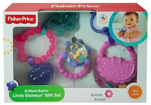 DDI 1471907 Fisher-Price Brilliant Basics Little Glamour Gift Set from Fisher-Price