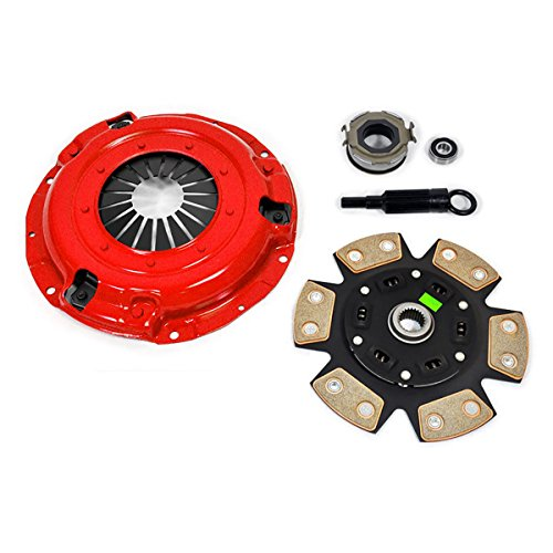 EFT 6-PUCK CLUTCH PRO-KIT FOR 1994-2001 SUBARU IMPREZA LEGACY OUTBACK 1.8L 2.2L - 6 Puck Clutch Kit