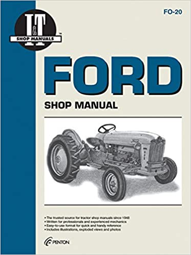 ford 600 tractor manual