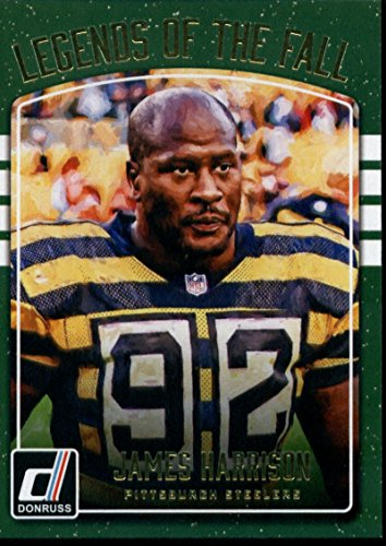2016 Donruss Legends of the Fall #11 James Harrison Steelers Football Card NM-MT