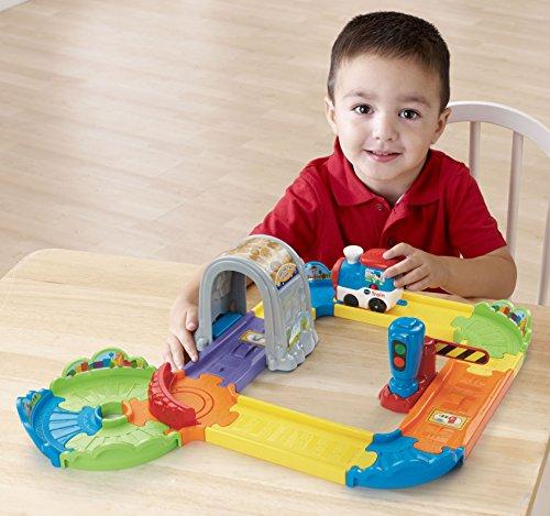 [해외]ech Go! 가기! 스마트 휠 Choo-Choo Train Playset/VTech Go! Go! Smart Wheels Choo-Choo Train Playset