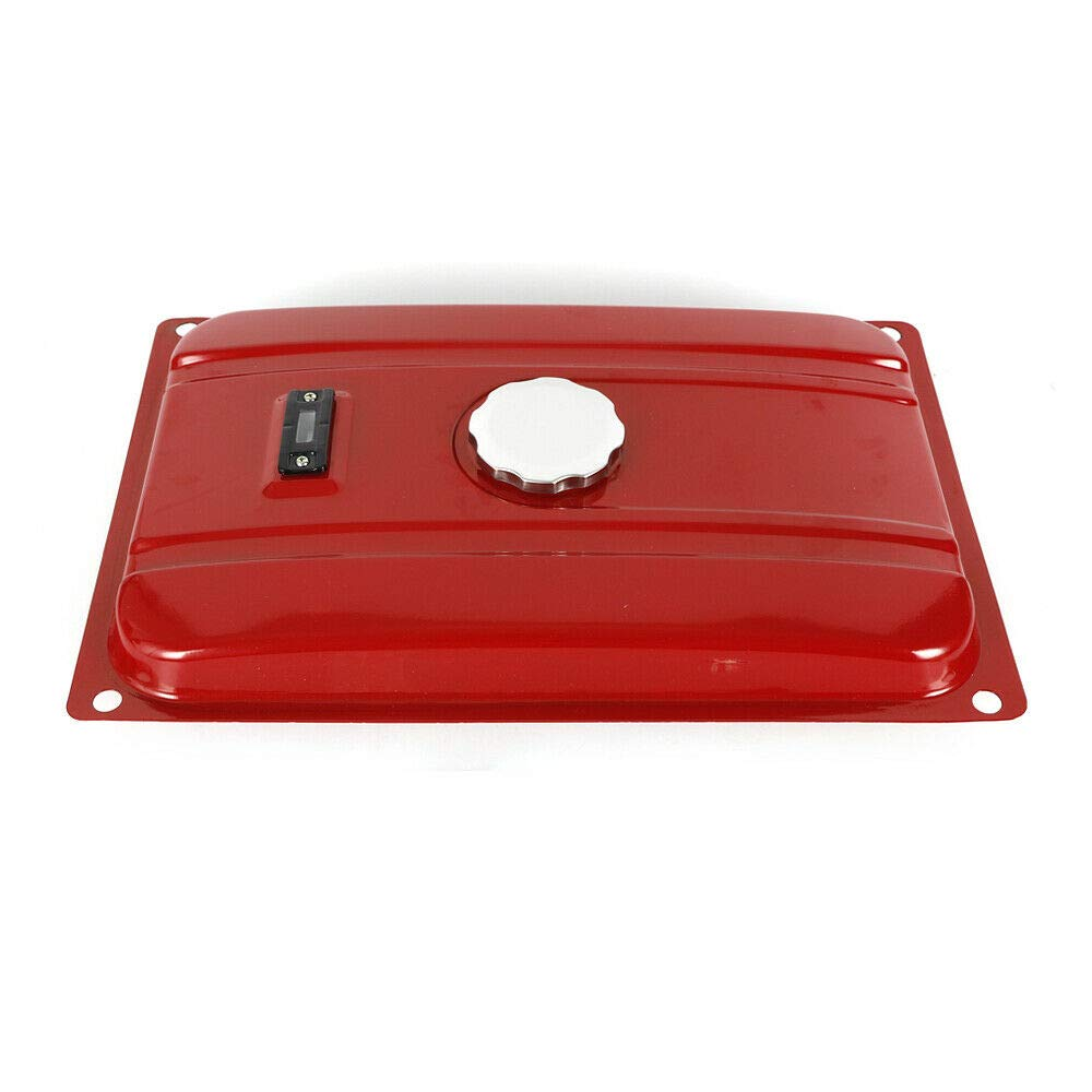 nerator 7 Gallon Gas Fuel Tank with Chrome Cap and Fuel Valve Fits 26.5 Liters