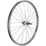 Wheel Master Rear Bicycle Wheel 26 x 1.75/2.125 36H, Steel Bolt On, Silver